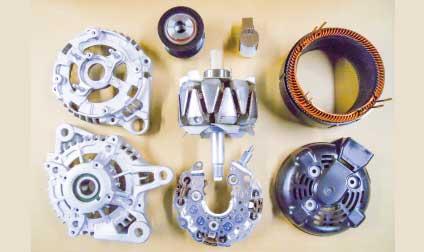 旧車向け自動車電装品修理します