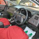 総合点検開始車両、助手席側からのアングル画像です。