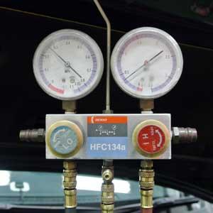 圧力計の装着②